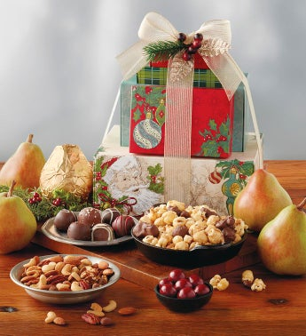 Tower of Treats® Holiday Cheer Gift