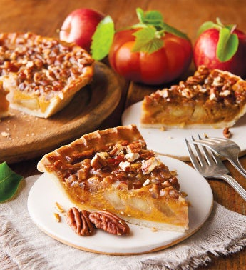 Apple Pumpkin Pecan Pie