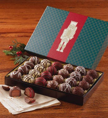 Signature Truffles with Holiday Lid