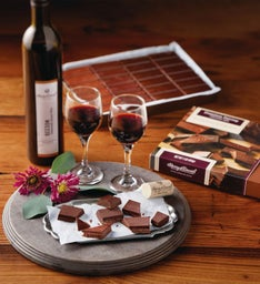 Premium Pairing Chocolates with Wine