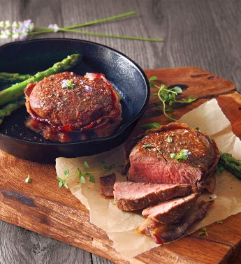 Bacon-Wrapped Filet Mignon