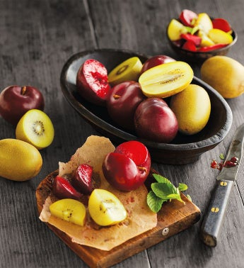Gold Kiwis and Plums