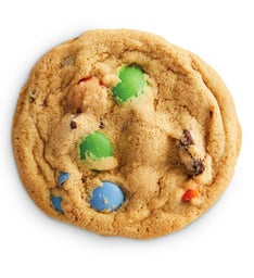 Orange, Green, and Blue Gem Homestyle Cookie