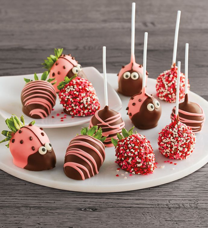 Happy Bug ChocolateCovered Berries and Cake Pops