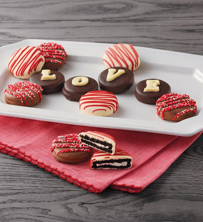 LOVE ChocolateCovered Cookies