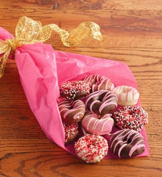 Valentine's Day Donut Bouquet