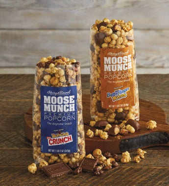 Moose Munch174 Premium Popcorn Duo 8211 Nestl233174 Butterfinger174 and Buncha Crunch174