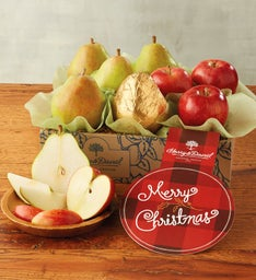 Merry Christmas Pears and Apples