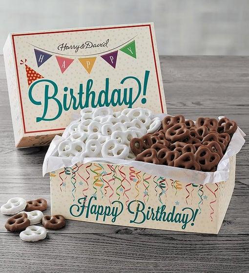 Happy Birthday Pretzel Box
