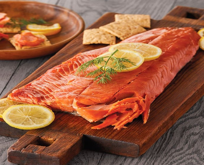 Fathers Day Smoked Whitefish At >> Wild Alaskan Smoked Salmon Seafood Gift Delivery Harry David