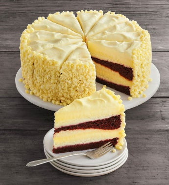 The Cheesecake FactoryR Ultimate Red Velvet Cake CheesecakeTM