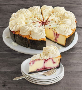 The Cheesecake Factory174 White Chocolate Raspberry Truffle174 Cheesecake - 1034 snipeImage