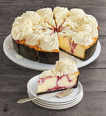The Cheesecake Factory® White Chocolate Raspberry Truffle® Cheesecake - 10""