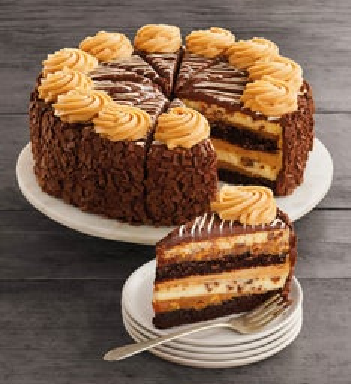 The Cheesecake Factory REESES PB Chocolate Cake Cheesecake