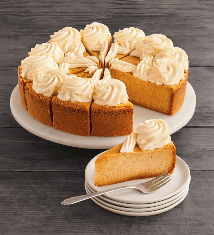 "The Cheesecake Factory® Pumpkin Cheesecake - 10"""