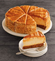 The Cheesecake Factory Salted Caramel Cheesecake