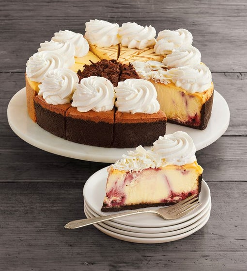 The Cheesecake Factory® Sampler Cheesecake - 10