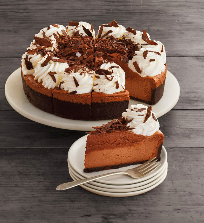 The Cheesecake Factory Chocolate Mousse Cheesecake