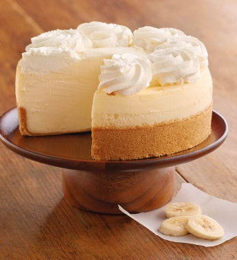 The Cheesecake Factory® Banana Cream Cheesecake - 7""