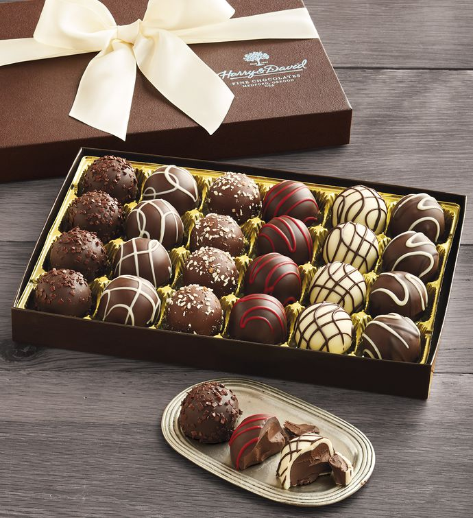 Signature Chocolate Truffles Gift Box Chocolate Gifts Harry David