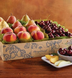 Royal Verano Pears Oregold174 Peaches and Cherry-Oh174 Cherries