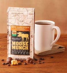 Decaf Milk Chocolate Caramel Moose Munch® Coffee