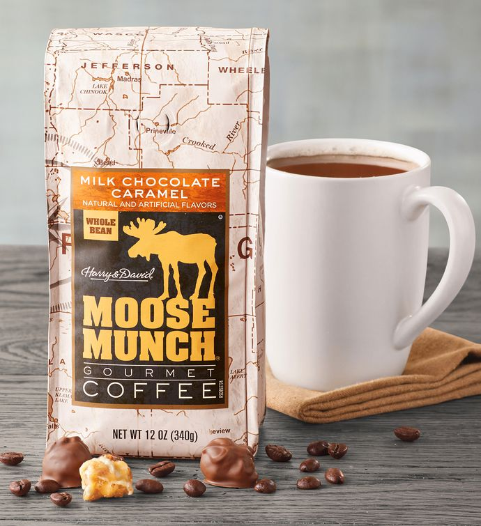 Milk Chocolate Caramel Moose Munch Coffee