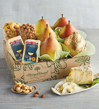 Pears and Stilton Cheese Gift Box