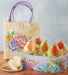 Mother's Day Pears and Tote Gift