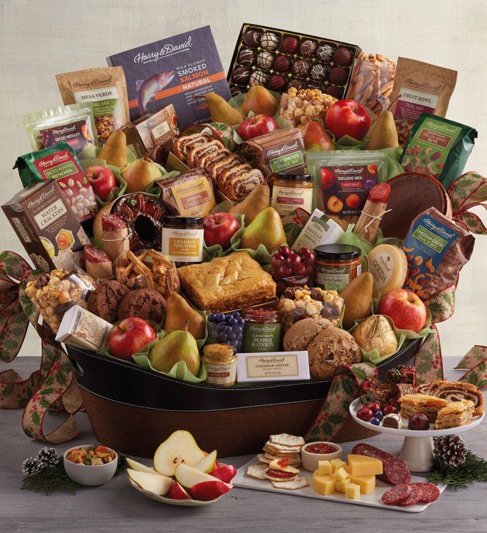 Ultimate Hearthside Gift Basket | Christmas Gift Basket Delivery