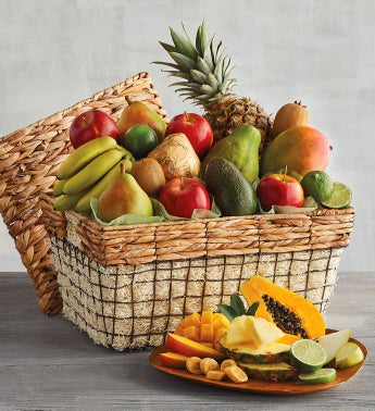 Deluxe Fresh Fruit Basket by Harry & David