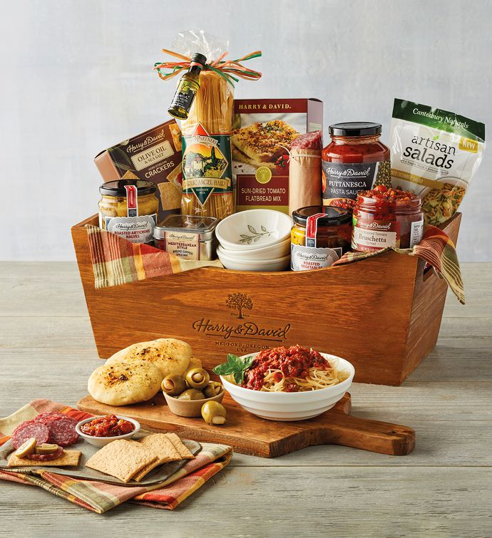 Home Gift Basket Ideas: Italian Inspirations Gift Basket
