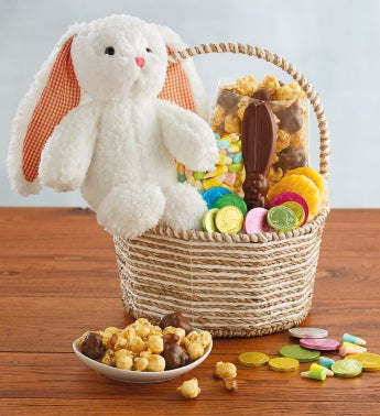 Easter bunny gift basket negle Images