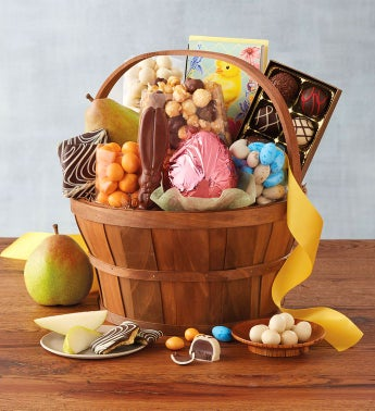 Classic easter gift basket negle Image collections