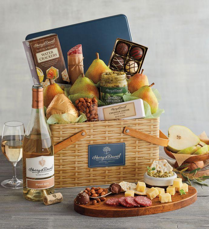 Picnic Basket Gift Tin with Wine & Picnic Gift Baskets | Picnic Gifts u0026 Picnic Basket Delivery | Harry ...