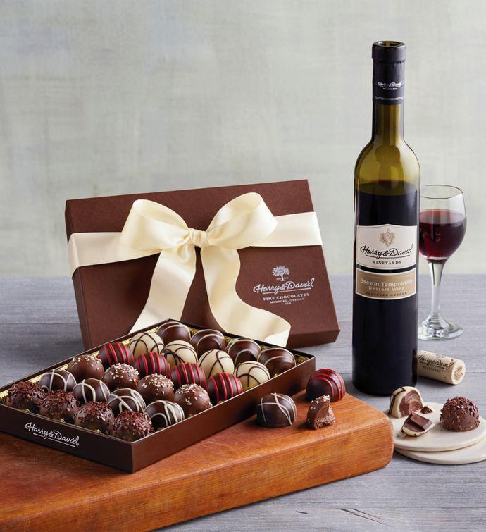 Truffles and Wine Gift