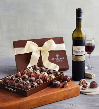 Wine and Truffles Gift
