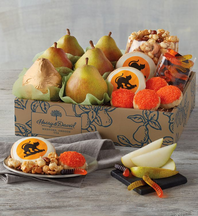 halloween gift box fruit candy gifts delivered harry david