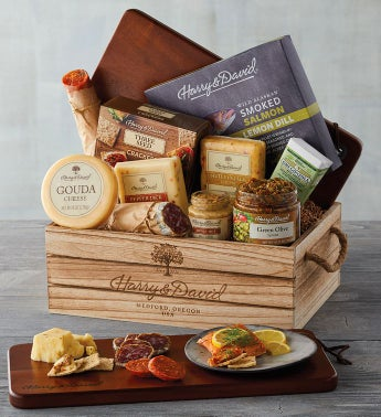 Artisan Meat and Cheese Gift snipeImage