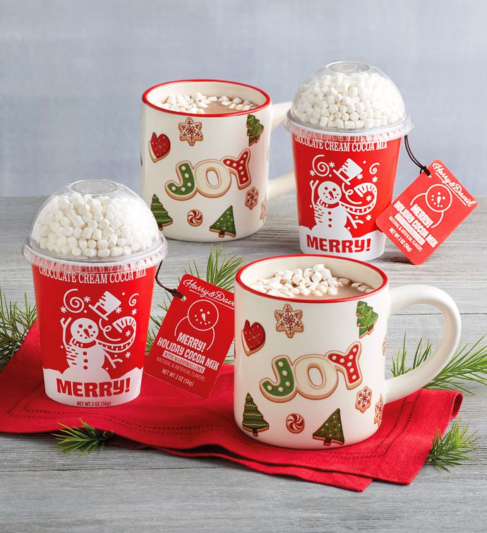 Holiday Hot Chocolate with Mugs