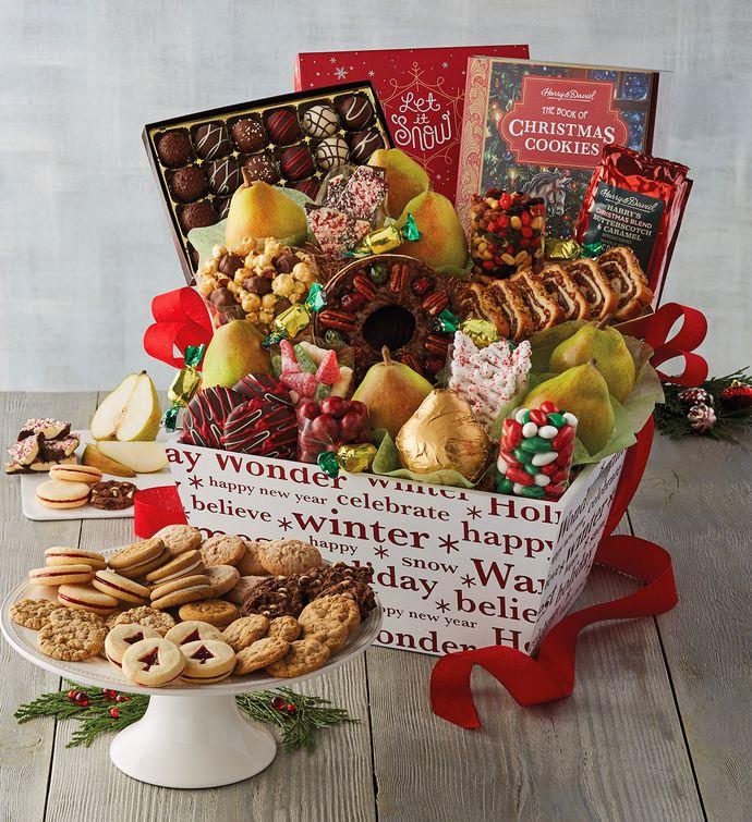 Christmas gift basket ideas family