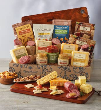 Meat and Cheese Gift Baskets | Charcuterie Gift Baskets | Harry & David