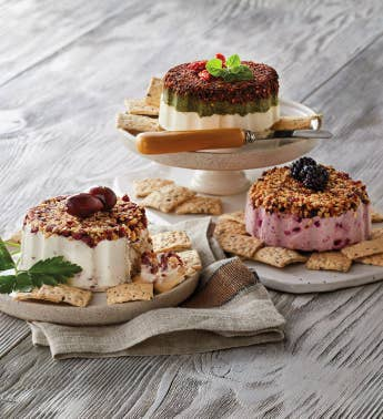 Savory Cream Cheese Appetizer Trio