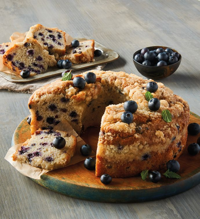 Wolferman's® Blueberry Coffee Cake