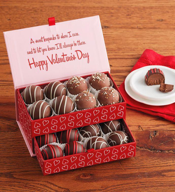 valentine's day truffles in keepsake box | harry & david, Ideas