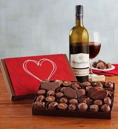 Chocolate and Wine Gift