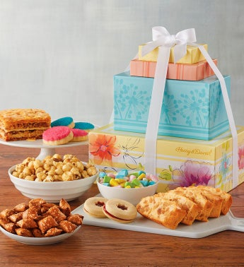 Sunshine and Sweets Gift Tower