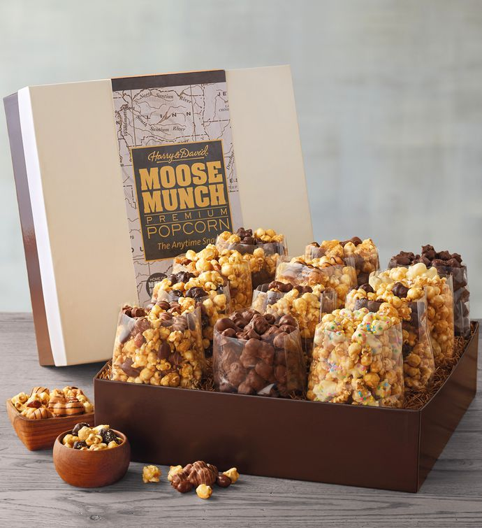 Moose Munch Premium Popcorn Ultimate Gift Box