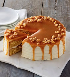 The Royal Touch Macadamia and Salted Caramel Cake
