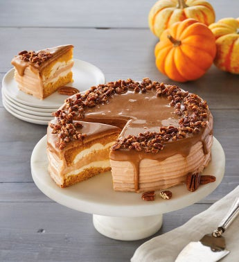 Maple Pumpkin Layer Cake